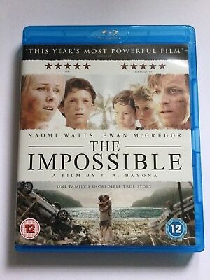 The Impossible Blu-ray (2013) Ewan McGregor