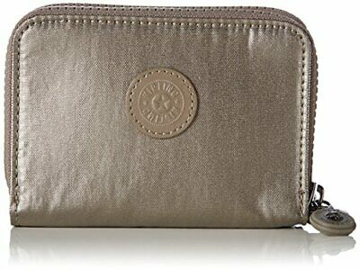 Kipling Abra, Portefeuilles femme, Gold (Metallic Pewte(Or (Metallic Pewter))