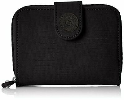 Kipling New Money, Porte-monnaie femme, Noir (True Black),(Noir (True Black))
