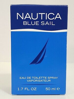 Nautica Blue Sail Cologne by Nautica, 1.7oz EDT Spray for Men NIOB