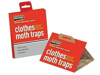 Clothes Moth Trap Twin Pack PRCPSCMT