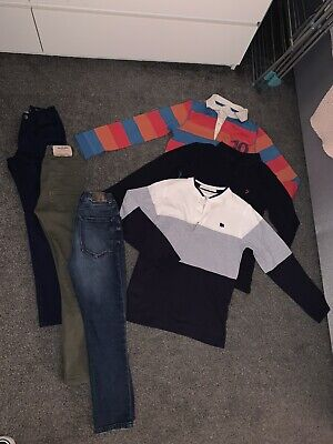 Boys Bundle Age 8-9-10 Farah, Zara, River Island & More Jeans, Trousers, Tops