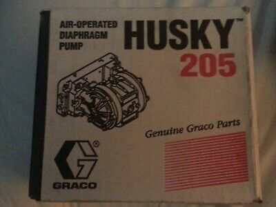 Graco Husky 205 D12091 Plastic Air-Operated Double Diaphragm Pump