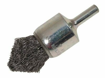 Pointed End Brush with Shank 23/68 x 25mm 0.30 Steel Wire LES453162