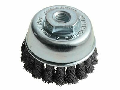 Knot Cup Brush 65mm M14 x 0.35 Steel Wire LES482117