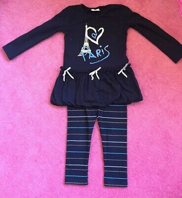 Girls Adee Paris Set Top & Leggings Age 4yrs