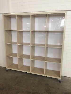 LARGE 4x4 STORAGE SHELF ON WHEELS