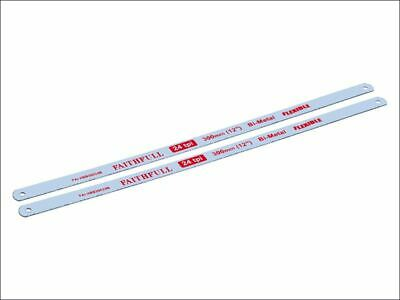 Hacksaw Blades 300mm (12in) x 24tpi Pack 2 FAIHSB30024