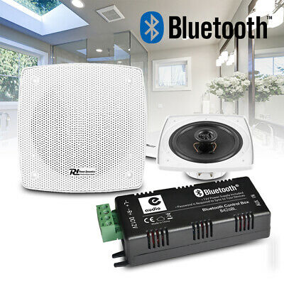 Kitchen and Bathroom Ceiling Speakers Wireless Bluetooth Amplifier Audio System