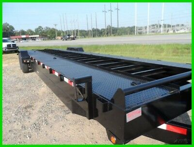 Down to Earth 82x 34 open deck 2 car hualer trailer 14k GVWR New 30 flat 4'