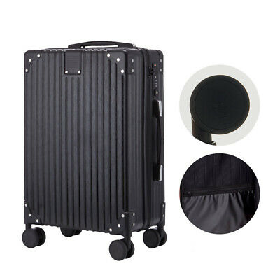 ABS Luggage Set Light Travel Case Hardshell Suitcase Multi-size Black