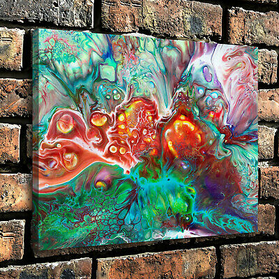 """12""""x16"""" Abstract painting dream cell HD Canvas Prints Paint Home Decor Wall art"""