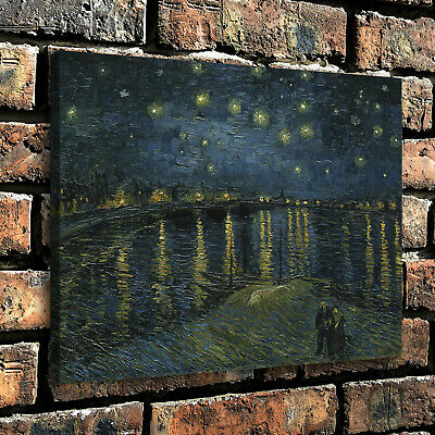 "12""x16"" Abstract painting Starlight HD Canvas Prints Paint Home Decor Wall art"