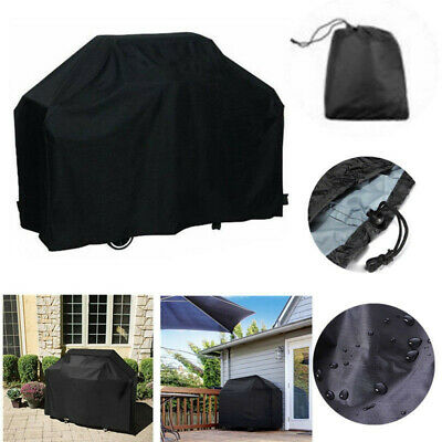Large BBQ Cover Heavy Duty Waterproof Rain Gas Barbecue Grill Garden Protector
