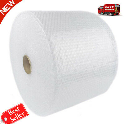 """SC PACK 3/16"""" 700 ft x 12""""Small Bubble Cushioning Wrap,Perforated Every 12(4 Rol"""