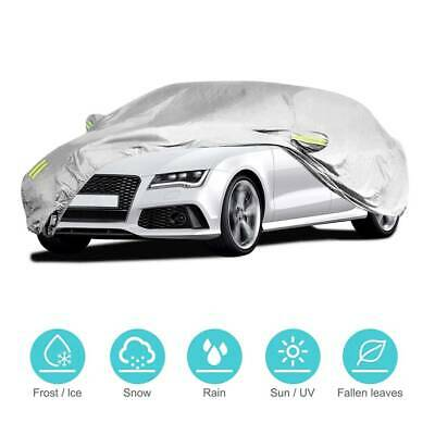 Heavy Duty Outdoor Waterproof 2 Layer Full Car Cover UV Proof S 415x170x150cm UK
