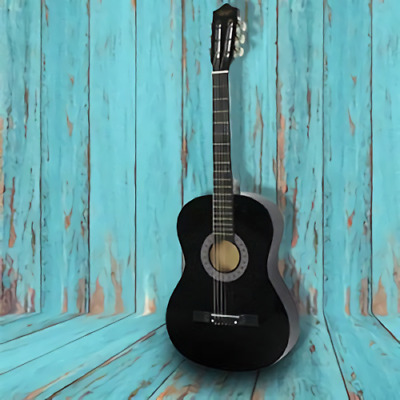 23 Inch Beginners Children Acoustic Guitar Full Size 6 Strings Guitar With Pick