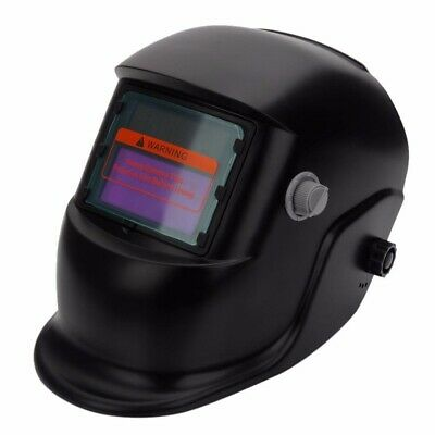 1pcs TIG Black Solar Powered Auto Darkening Welding Helmet Grinding Welder Mask