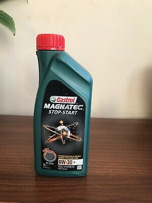 Castrol Magnatec Stop-Start 0w-30 D Fully Synthetic Car Engine Oil - 1 Litre 1L