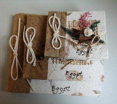 Stationery Writing /Art Set Papyrus Paper Hand Made In Egypt