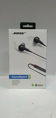 Bose SoundSport In-Ear Wired Headphones - Charcoal