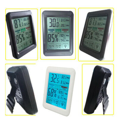 Digital Hygrometer Office/Home Digital LCD Electronic Thermometer Humidity Meter
