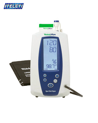 Welch Allyn Spot Vital Signs Device 420TB Temperature, NIBP, Pulse Rate, MAP