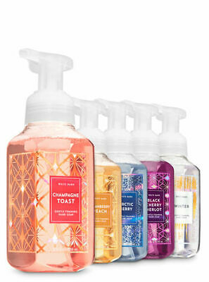 Bath & Body Works Set of 5 All that Glitters Gentle Hand Foaming Soap
