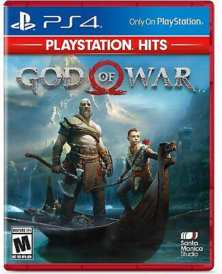 God of War PlayStation Hits PS4 NEW SEALED DISPATCHING TODAY ALL ORDERS BY 2 P.M
