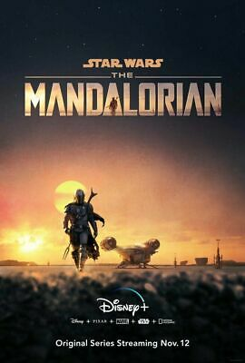 D-5 Star Wars 2019 Poster The Mandalorian TV Series Fashion Art Silk 14x21 24x36