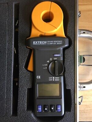 Extech instruments ground resistance clamp on tester model 382357