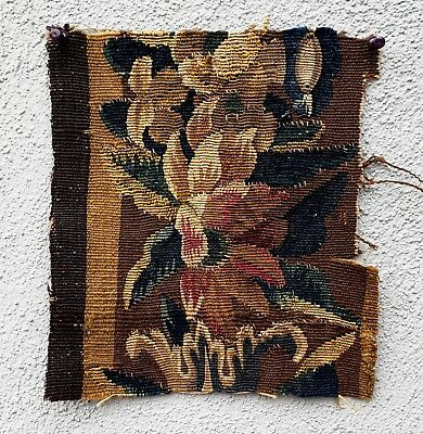 A Cute Antique Tapestry Fragment