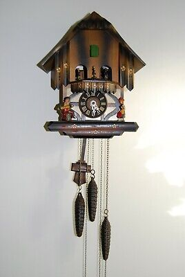 west german musical cuckoo clock.