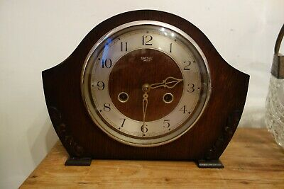 Art Deco Smiths Chiming Mantel Clock - Running