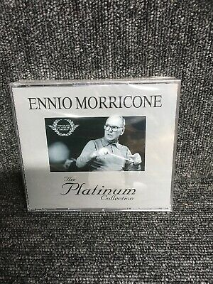 ENNIO MORRICONE - THE PLATINUM COLLECTION [3 CD] NEW & SEALED. Freepost In Uk