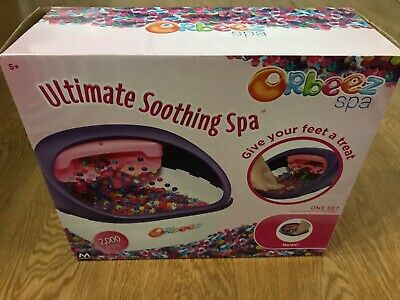 Childrens 5+ Orbeez foot spa, including box and instructions
