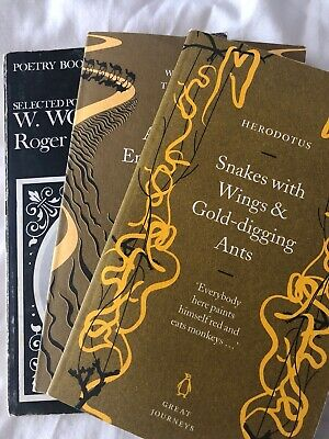 Poetry & Short Stories Books Wilfred Thesiger, Herodotus & W.wordworth. Colectib