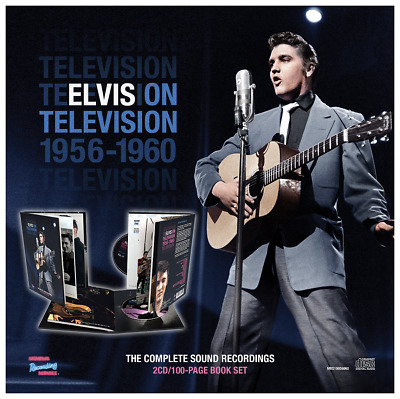 ELVIS PRESLEY on TELEVISION 1956-1960 THE COMPLETE SOUND RECORDINGS 2 CD BOX SET