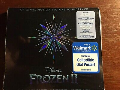 FROZEN 2 Original Motion Picture Soundtrack EXCLUSIVE CD Digipak /W POSTER