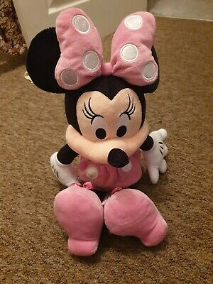 Disney pink Minnie Mouse large soft plush toy