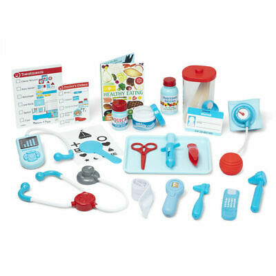 Melissa Doug Wooden Get Well Doctor S Kit Play Set 8569