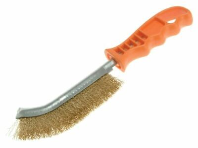 Universal Wire Brush 260mm x 28mm 0.3 Brass Wire LES056701