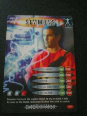 Dr who battles in time test card number 34 simmonds