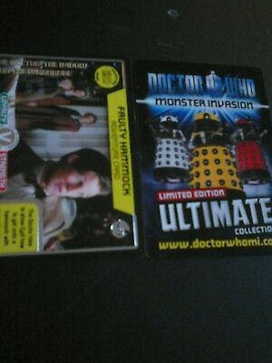 Dr who monster invasion ultimate card number 469 faulty hammock