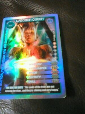 Dr who monster invasion ultimate card ultra rare card 376 wooden queen