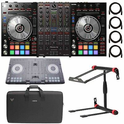Pioneer DJ DDJ-SX3 4-channel Serato DJ Pro Controller + Soft Carry Case & Cables