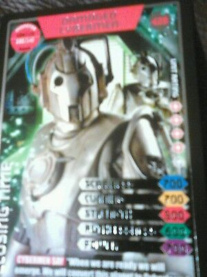 Dr who monster invasion ultimate Ltd Edition card number 425 damaged cybermen