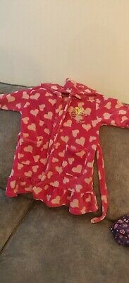 Princess Girls Dressing Gown Age 5-6 Years
