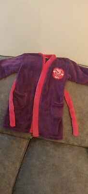 Peppa Pig Dressing Gown Age 3-4 Years Old