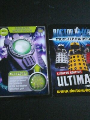 Dr who monster invasion ultimate card number 434 teselecta wrist device